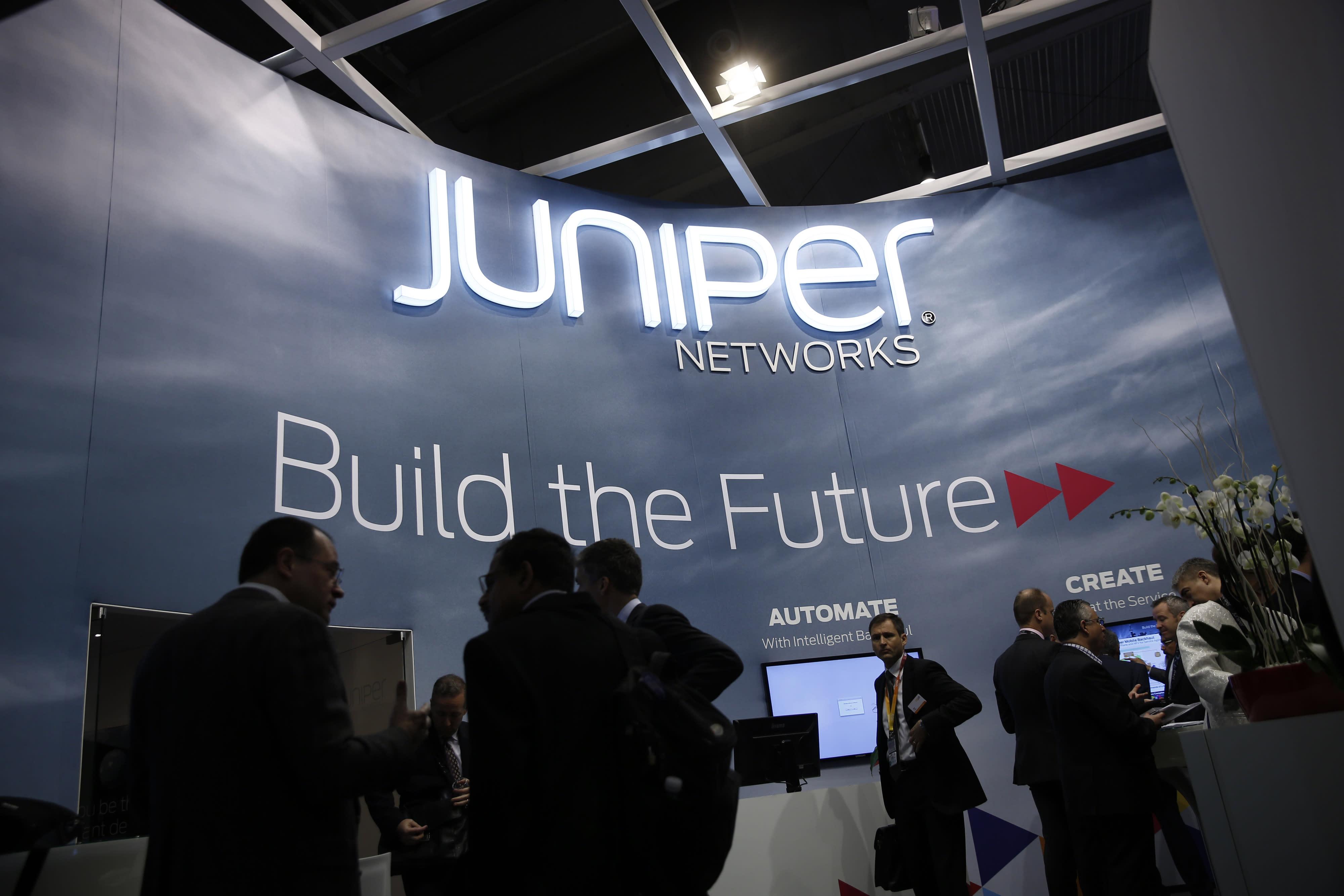 Shares Of Juniper Networks Drop 7 On Weak Guidance